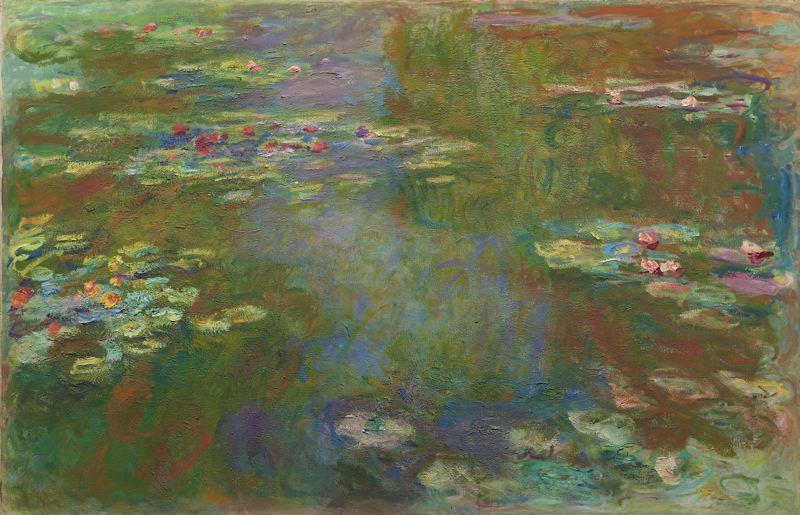 Claude Monet  French, 1840-1926, Water Lily Pond