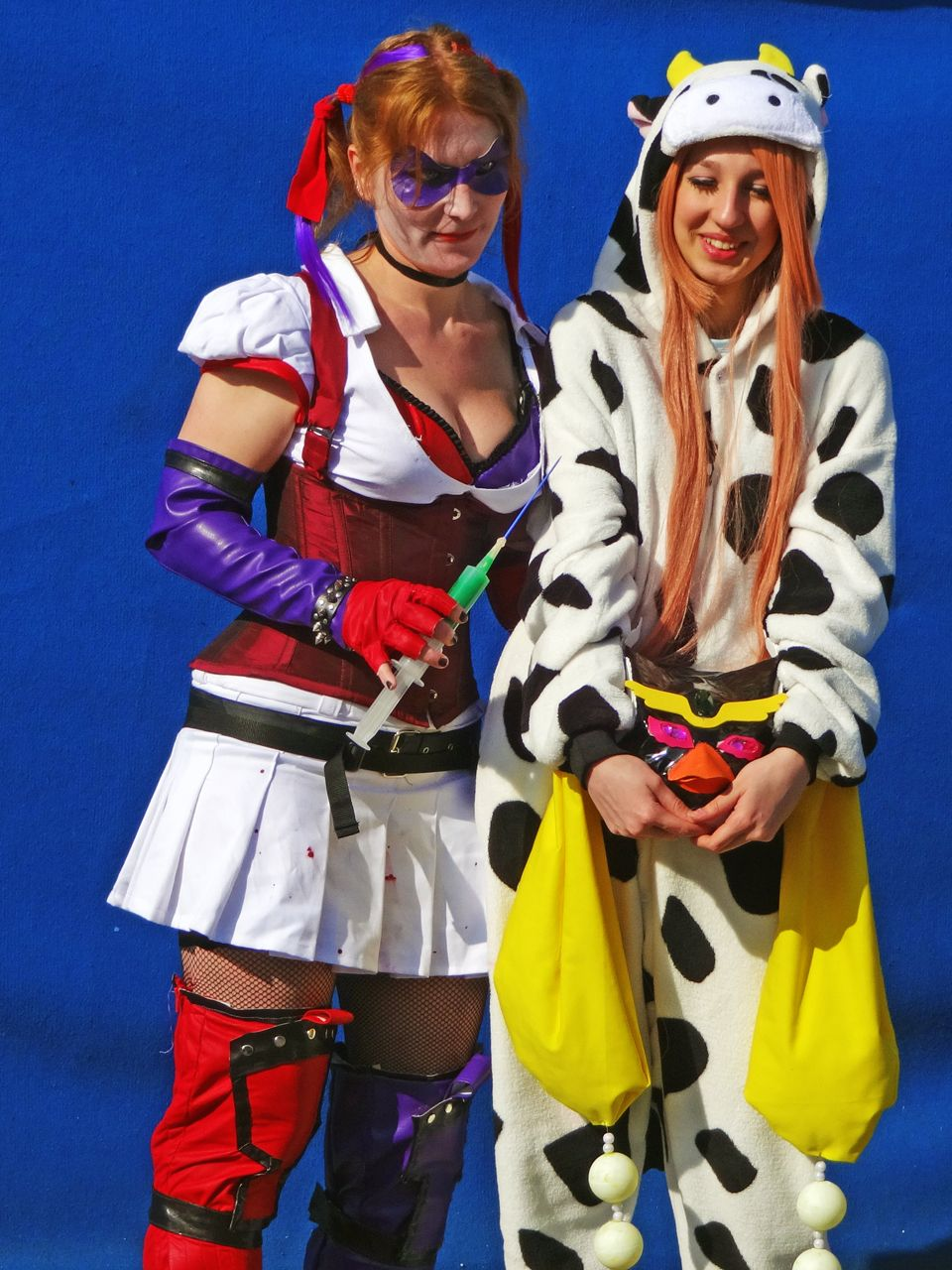 Harley Quinn #cosplay from Mantova #comics fair
