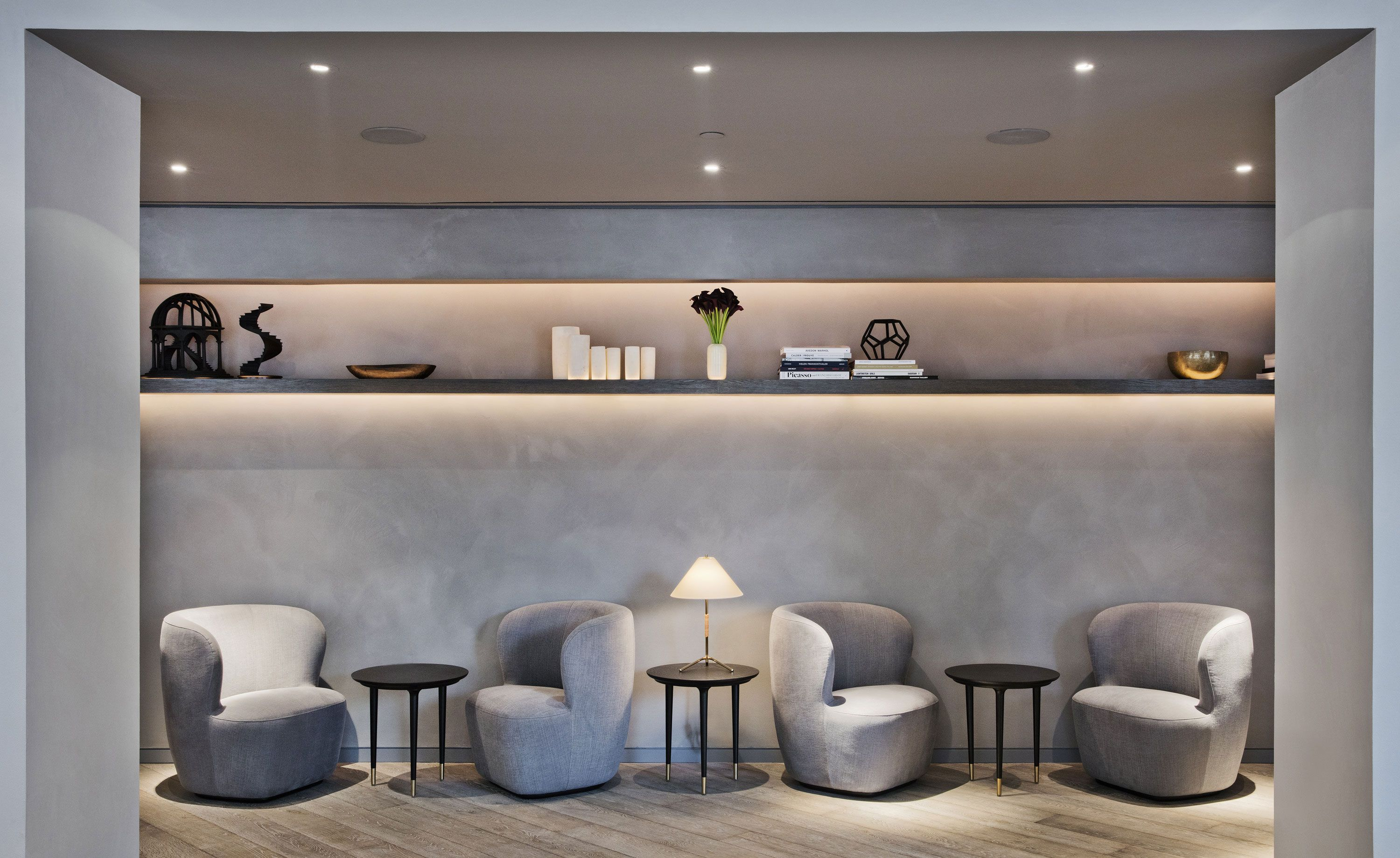 11 howard new york usa leading hotels design trends for Hotel lobby design trends