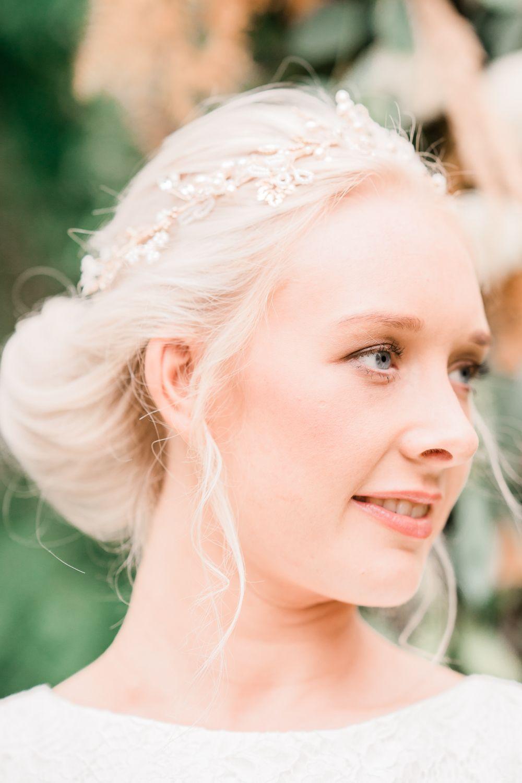 5438089decd Bride Bridal Hair Up Do Accessory Golden Autumnal Wedding Ideas Joanna  Briggs Photography #Bride #Bridal #Hair #UpDo #Curls #accessory #wedding