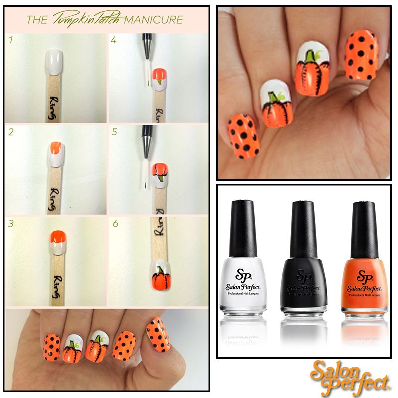 Nail artist The Crafty Ninja creates a step by step