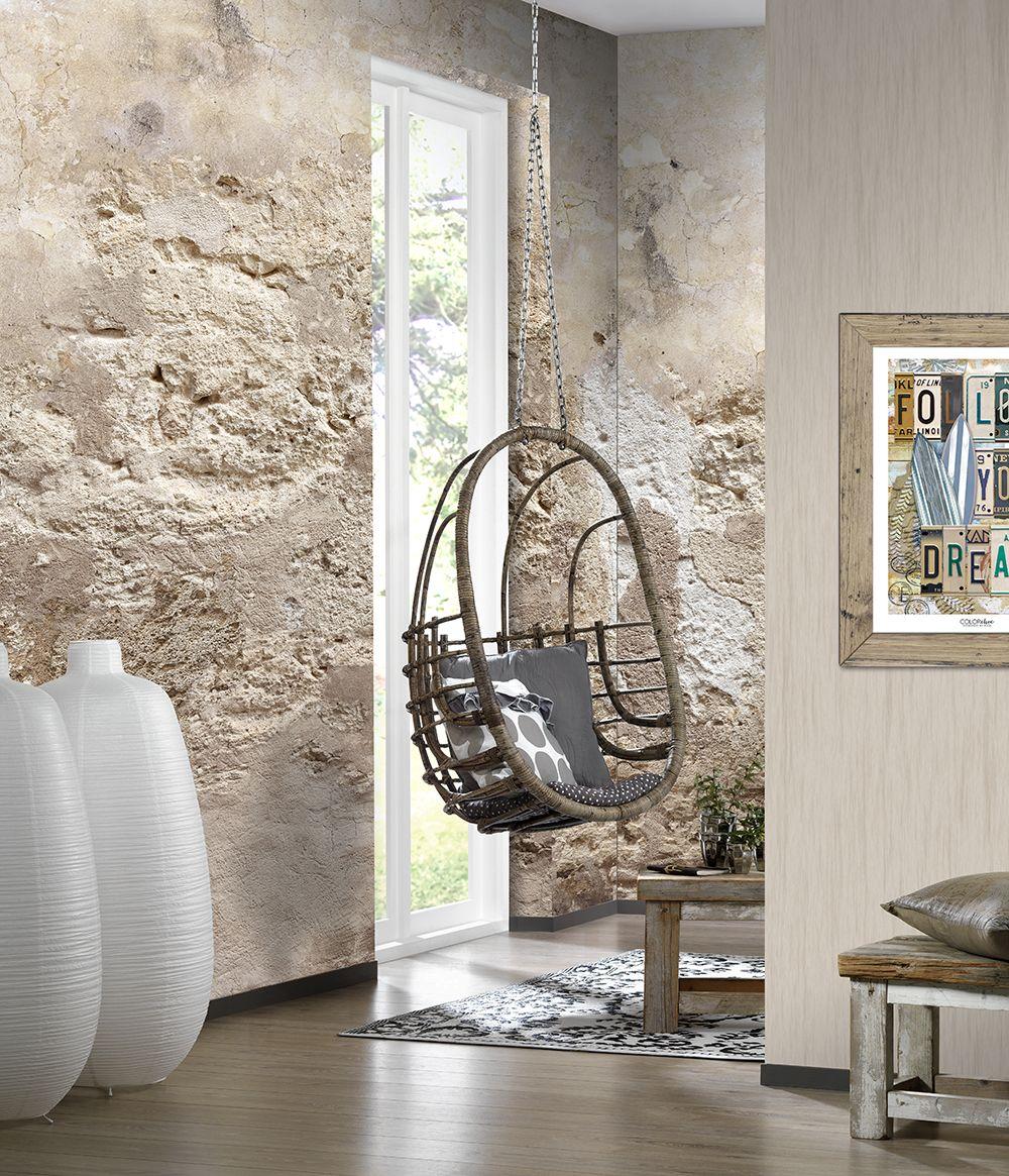 Vlies Fototapete Steinwand Antik Mauer Mediteran Verwittert 200x300cm Fototapete Steinwand Steinwand Tapeten