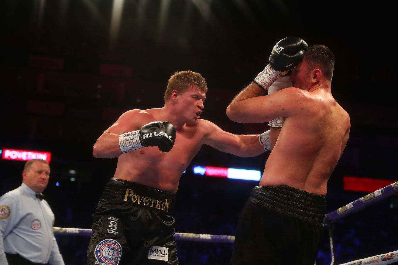 Alexander Povetkin Michael Hunter Scott Quigg Jono Carroll Set For Ruiz Joshua Ii Undercard Anthony Joshua Ruiz Boxing News