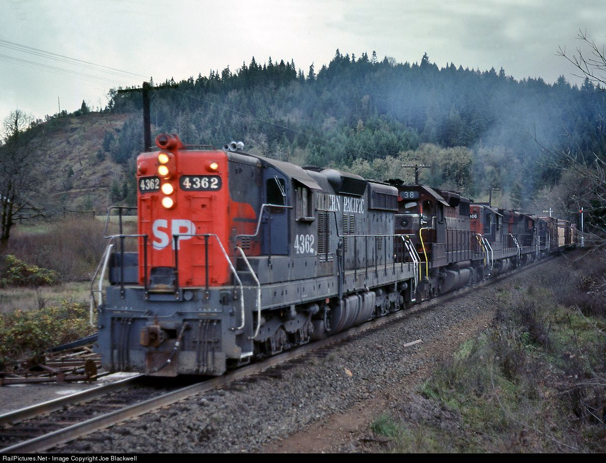 Railpictures net photo sp 4362 southern pacific railroad for Railpictures
