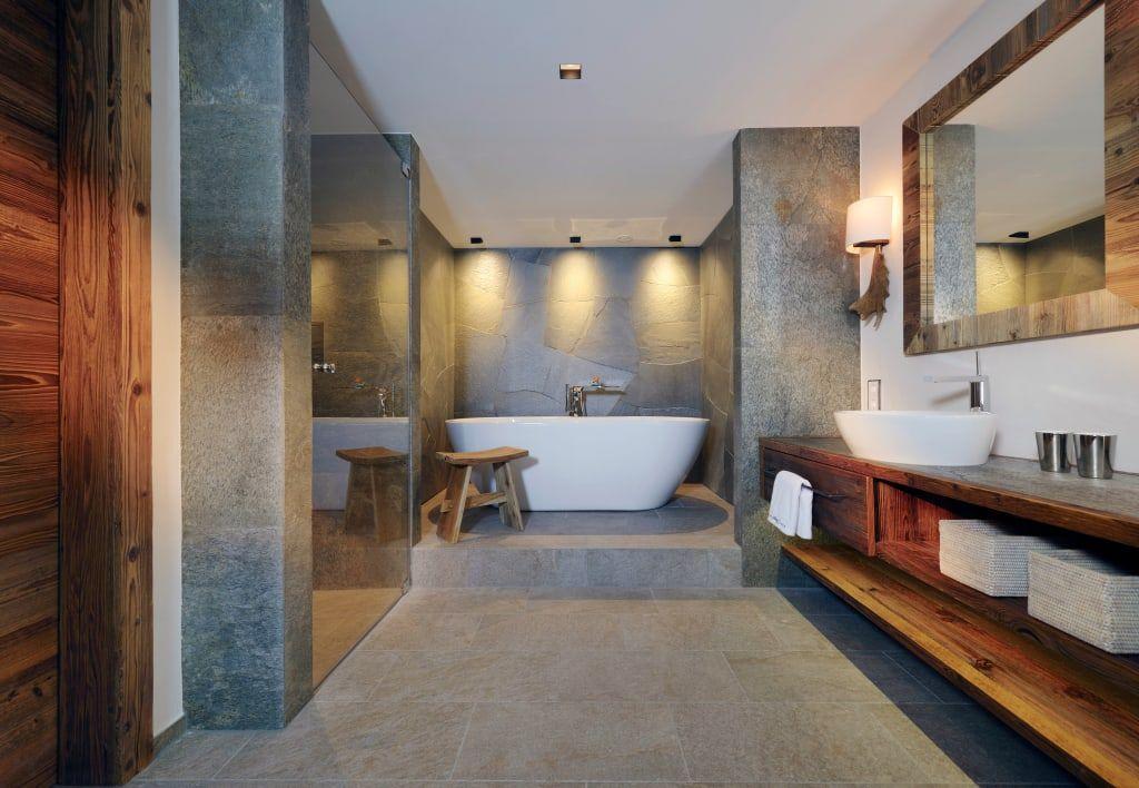 Landhausstil Badezimmer Bilder Hotel Arlberg Jagdhaus - die schönsten badezimmer