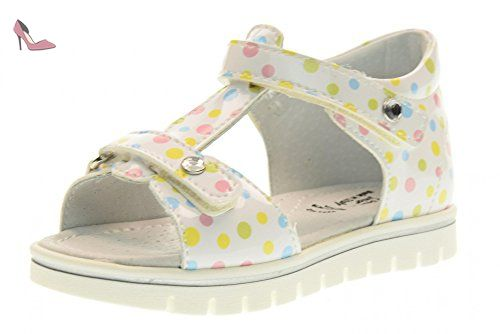 NERO GIARDINI P722282F chaussures fille / sandales 707 (23/26) taille 26 Bianco / Fantasia - Chaussures nero giardini (*Partner-Link)