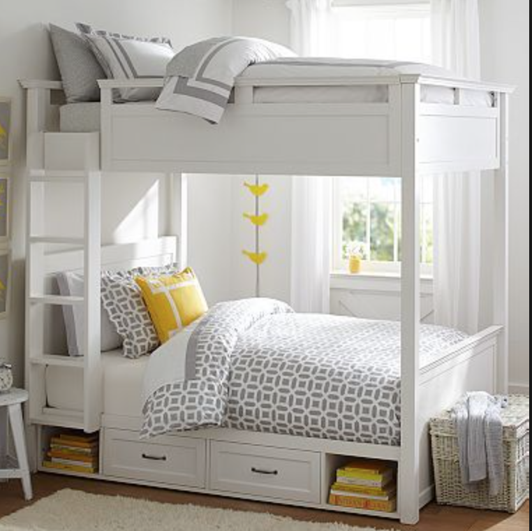 Bunk Bed With Drawers Bunkbeddesignsforteens Lake Cottage
