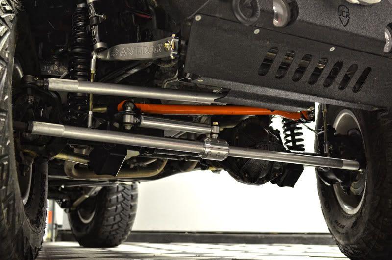 Carolina Metal Masters Aluminum Tie Rod And Drag Link   JKowners.com : Jeep  Wrangler JK Forum