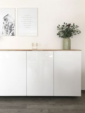 Ikea Hack - Metod Küchenschrank als Sideboard #ikeaideen