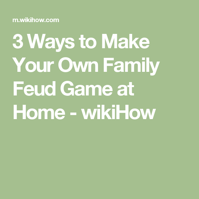 make your own family feud game at home | family feud game, Powerpoint templates