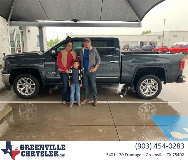 Congratulations Mayra on your GMC Sierra 1500 from