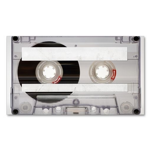 DJ Cassette Tape Business Card Template. Make your own business card with this great design. All you need is to add your info to this template. Click the image to try it out!