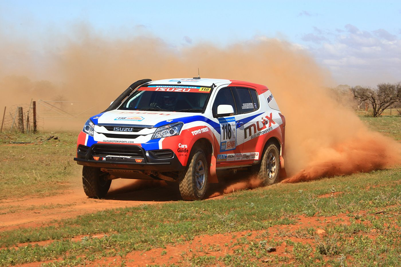 Isuzu Mu X Engineered In Sydney For Dakar Rally In 2015 With