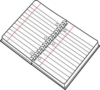 Spiral Notebook Clip Art Download Clip Art Cool Notebooks Free Clip Art