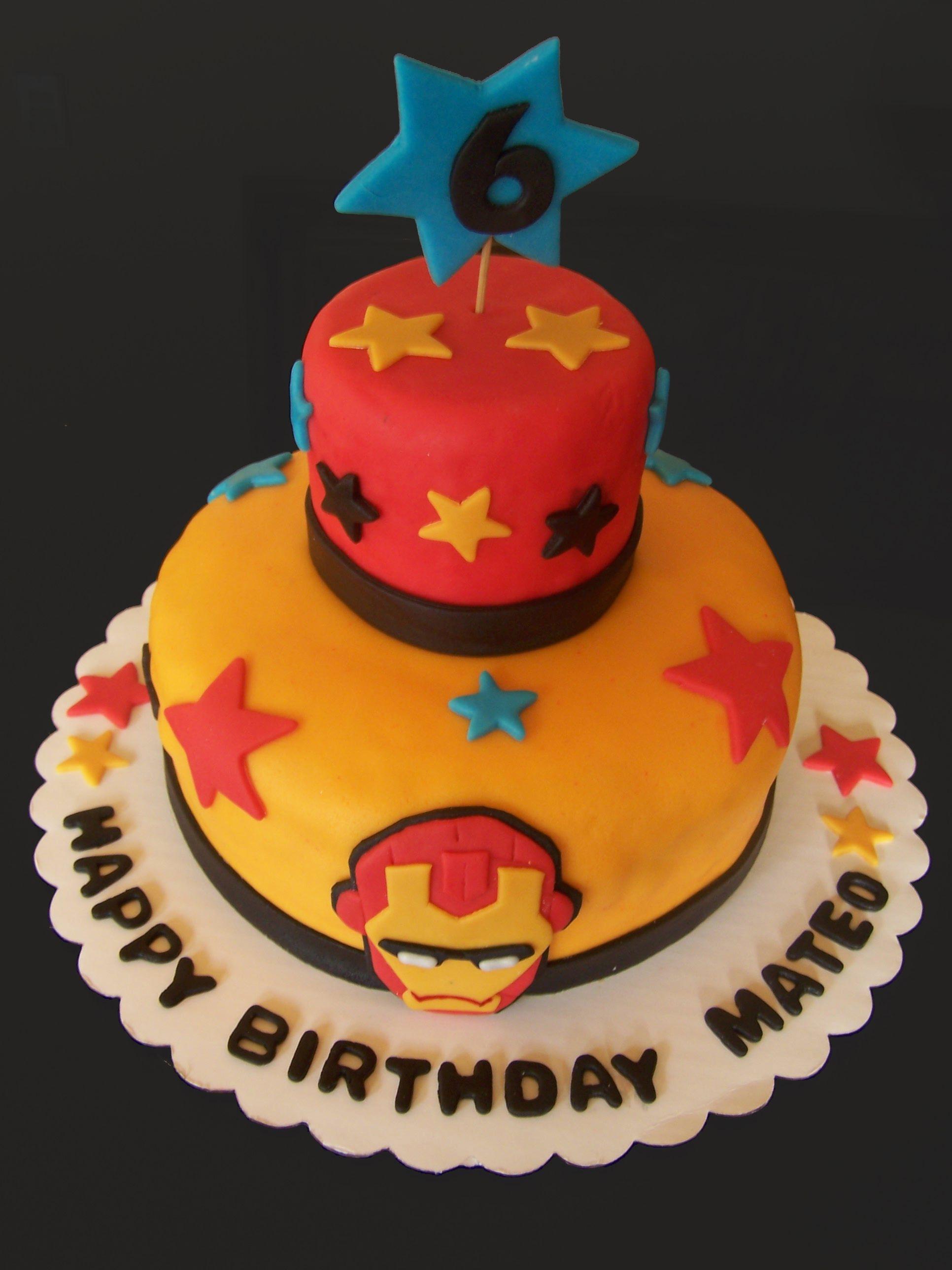 Iron Man Cake Cakes Pinterest Iron man cakes Man cake and Cake