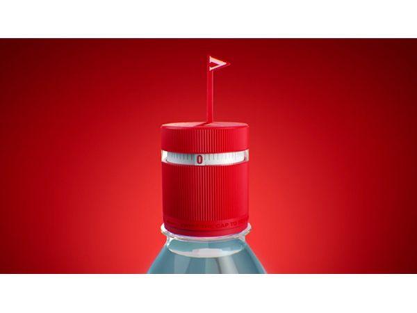 Un diseño de botella que te recuerda tomar agua.