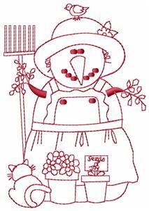 "/""Sweet Sarah/"" Vtg Embroidery Transfer Pattern"