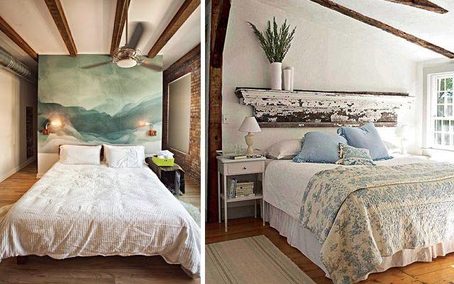 Decoraci n de dormitorios con cabeceros originales for Pinterest decoracion dormitorios