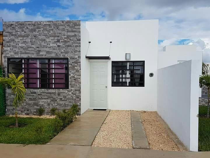 Pin de betzaida en fachadas fachadas de casas chicas for Fachadas de casas modernas pequenas de infonavit