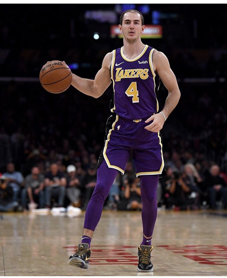 Alex Caruso Los Angeles Lakers Nba Funny Los Angeles Lakers Goats
