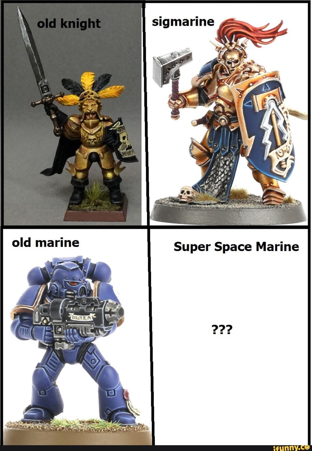Old marine Super Space Marine iFunny ) Space marine