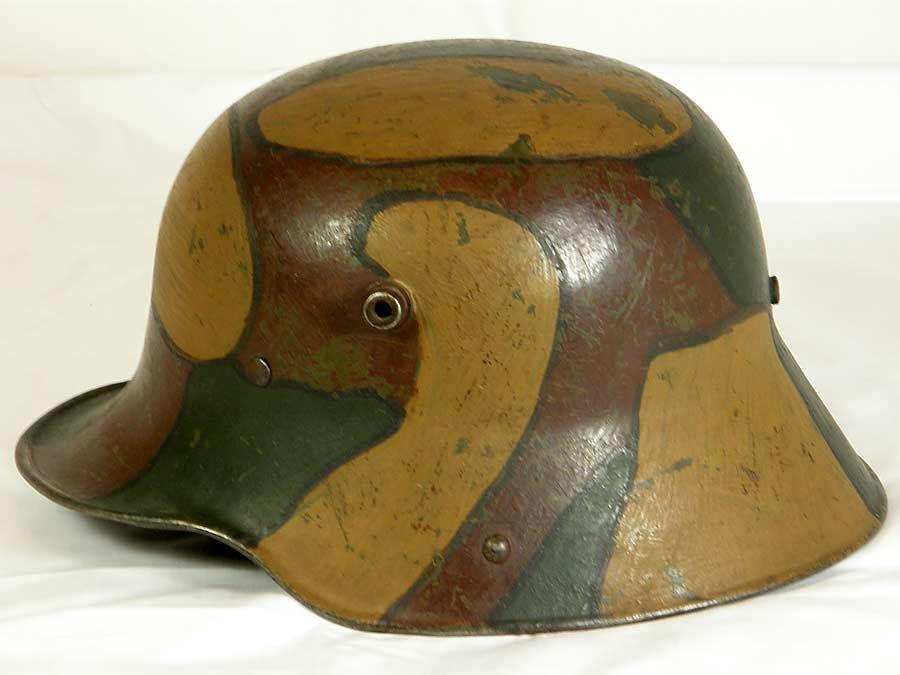 ww1 german helmet camouflage - Google Search   1914   German