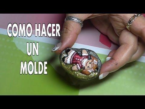 DIY COMO HACER UN MOLDE PLANO                                                                                                                                                     Más