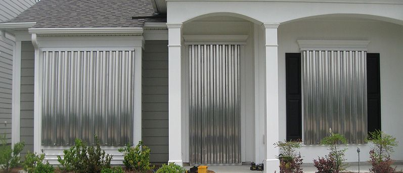 Image result for corrugated window shutters