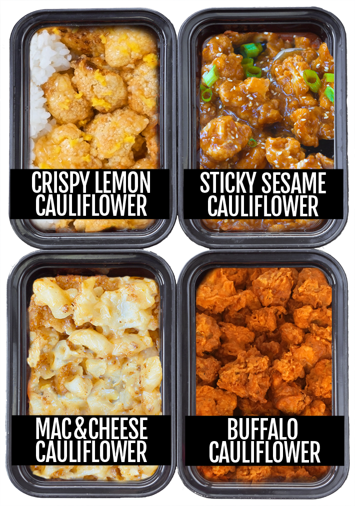 Cauliflower Meal Prep – 4 Different Ways! - Chocolate Covered Katie