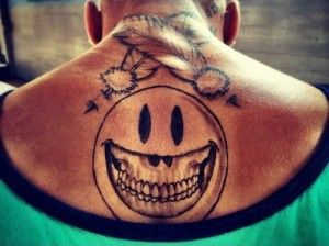 Chris Brown Back Tattoo Meanings and Pictures of Breezy's