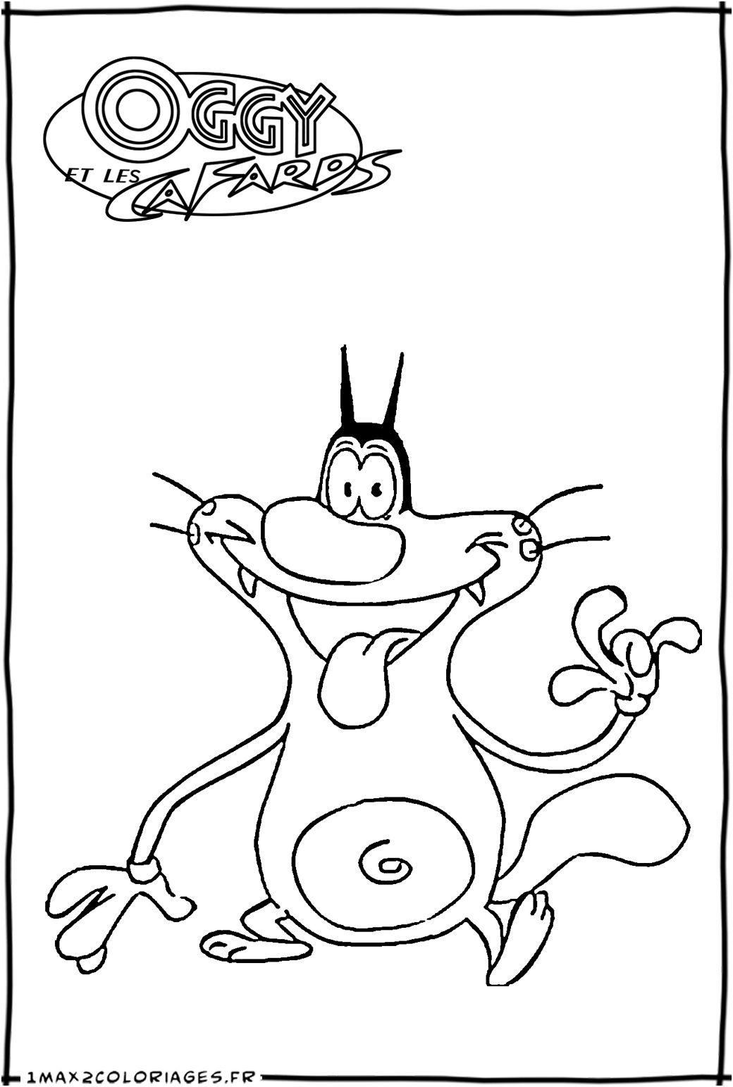 Dessin Oggy Et Les Cafards : dessin, cafards, Qualité, Cafards, Coloriage, Garçon,, Winx,