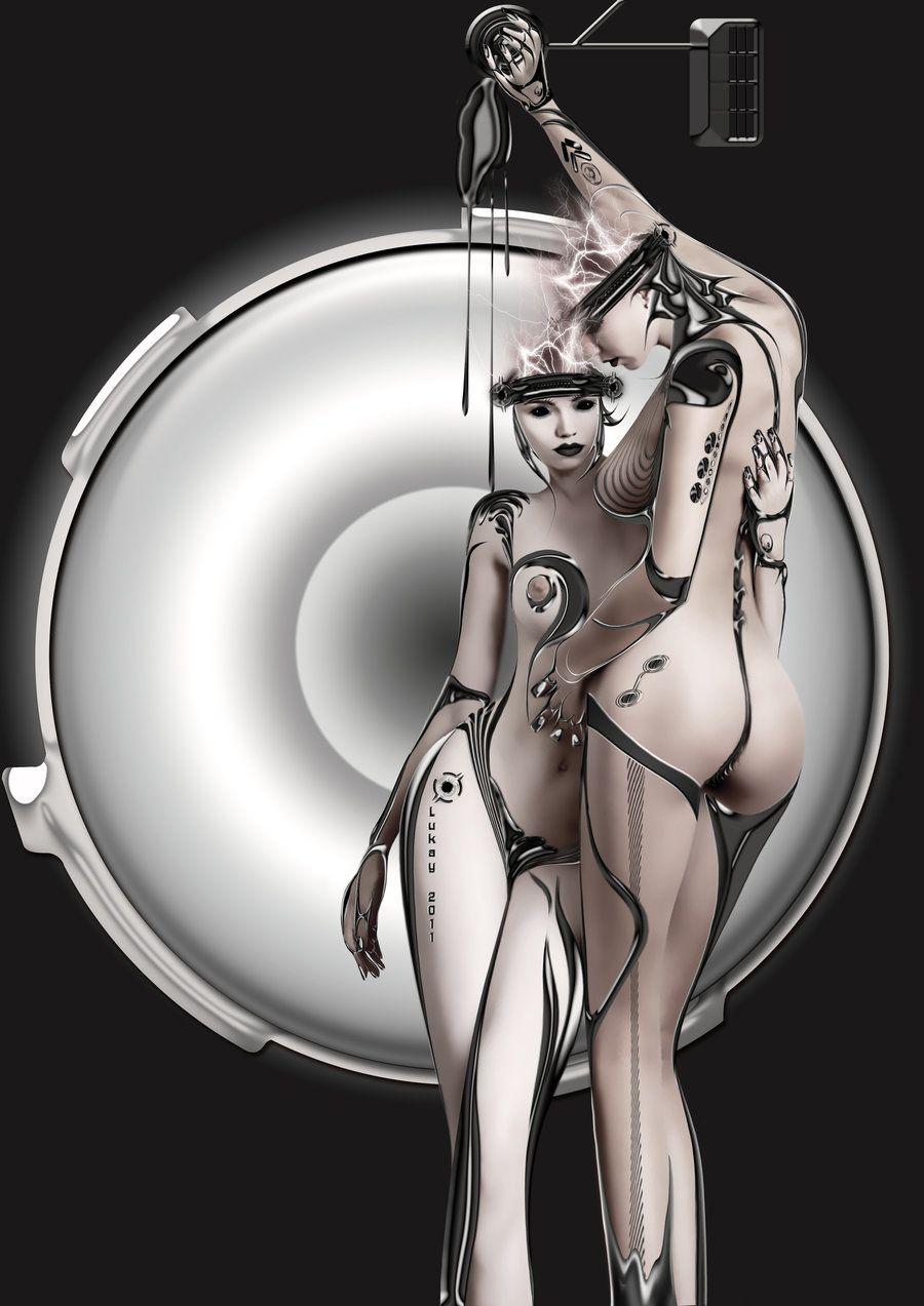 Эротичные роботы девушки