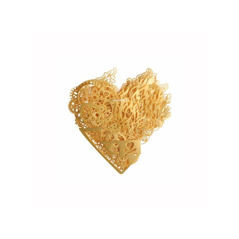Ketting Clockwork Love Burning Gold small