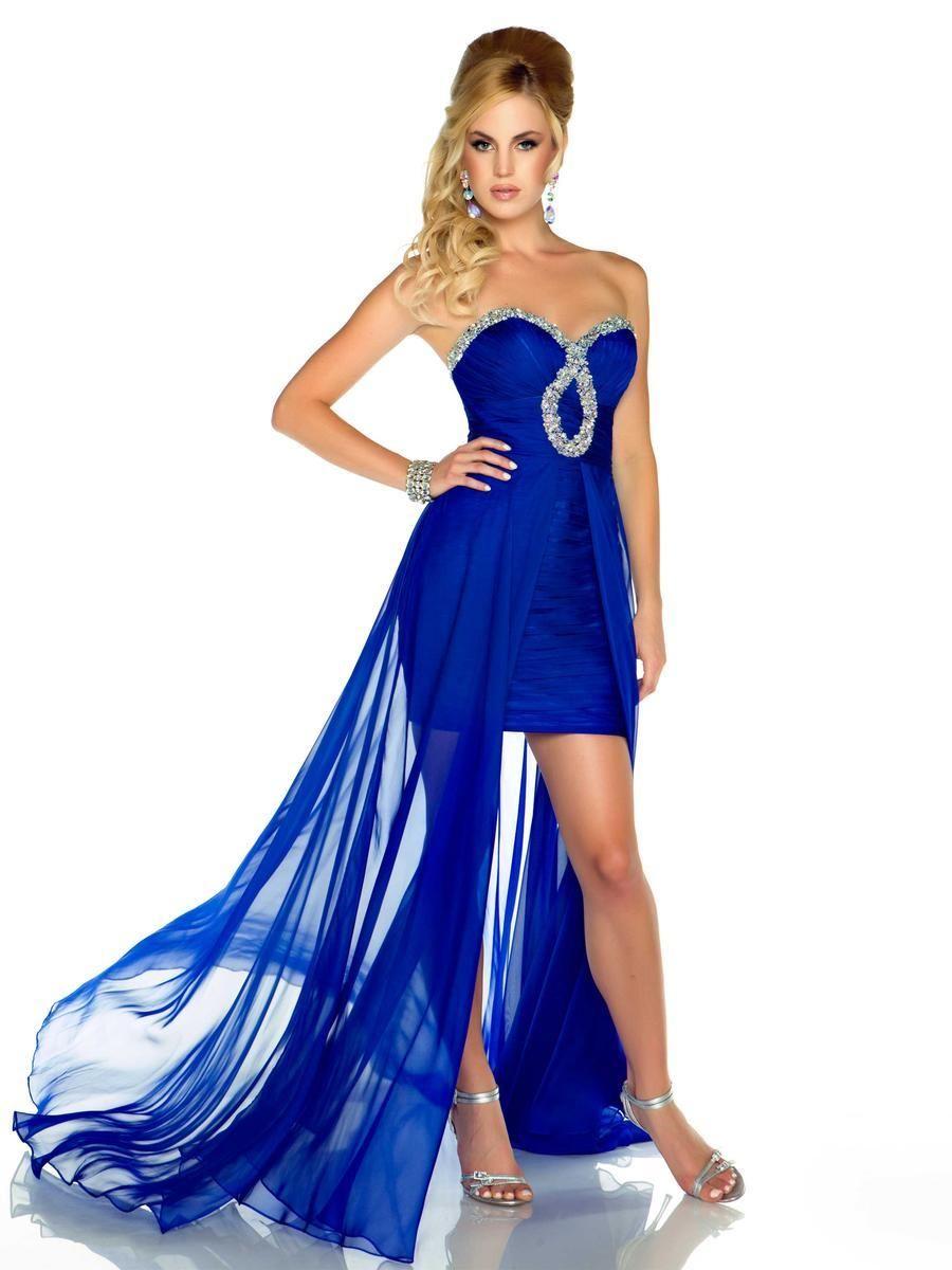 Tipos de colores azules para vestidos