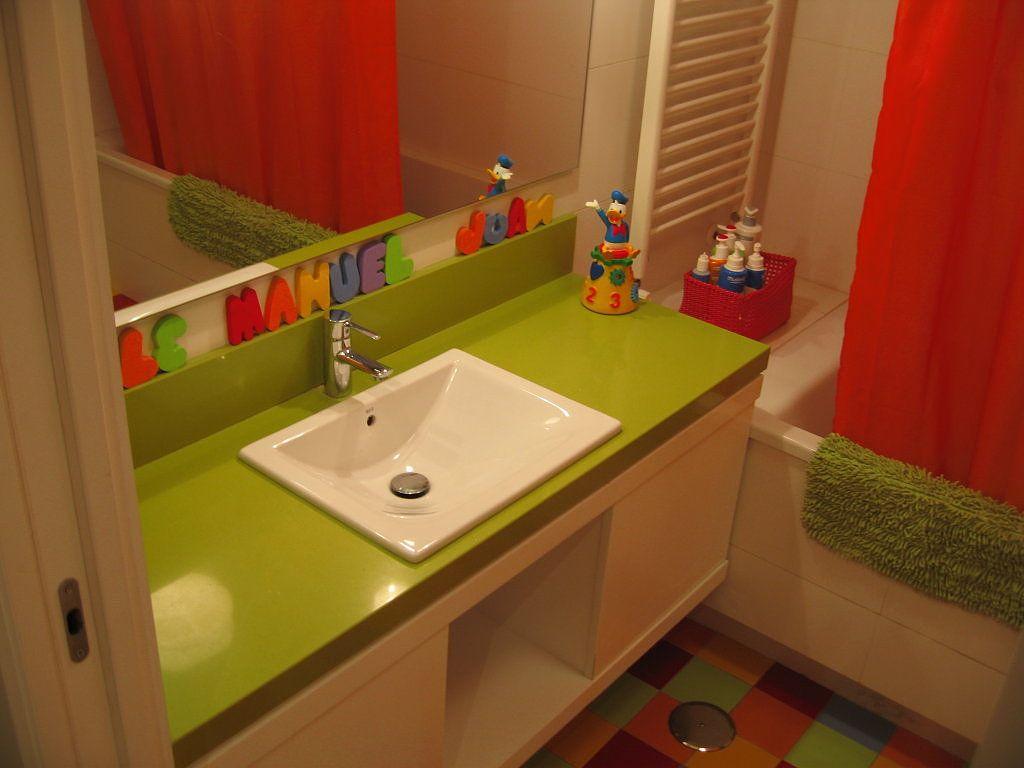 Ba os infantiles ideas para kid bathrooms and bath for Ideas para decorar banos