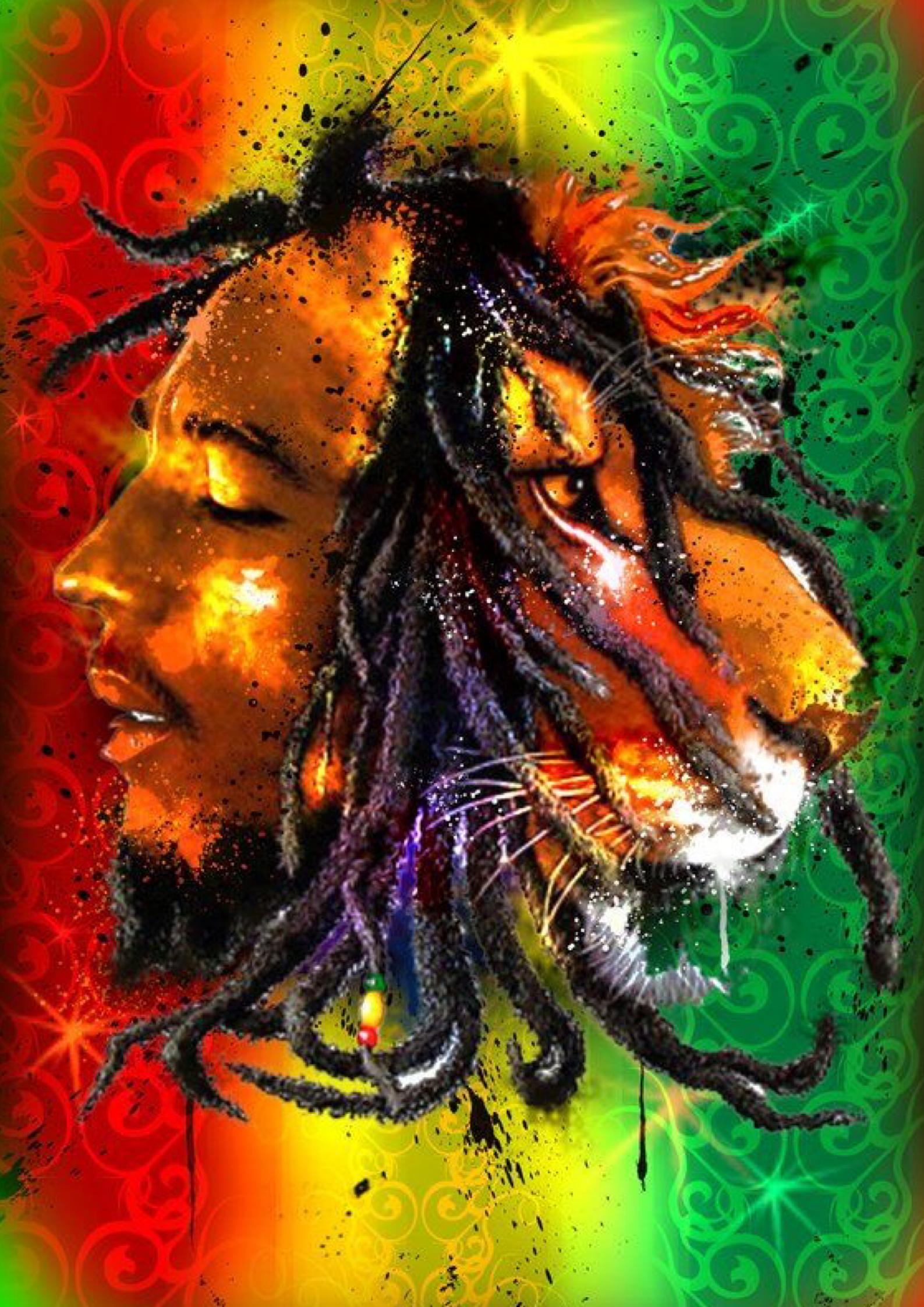 Pin By Cajon Indonesia On Wallpaper A3 Hd And Custom Bob Marley Art Reggae Art Bob Marley Pictures