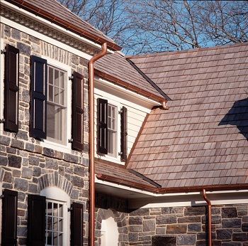 Roof Drainage Systems Coppercraft By Fabral Luxury House Interior Design Stone Houses Gutters