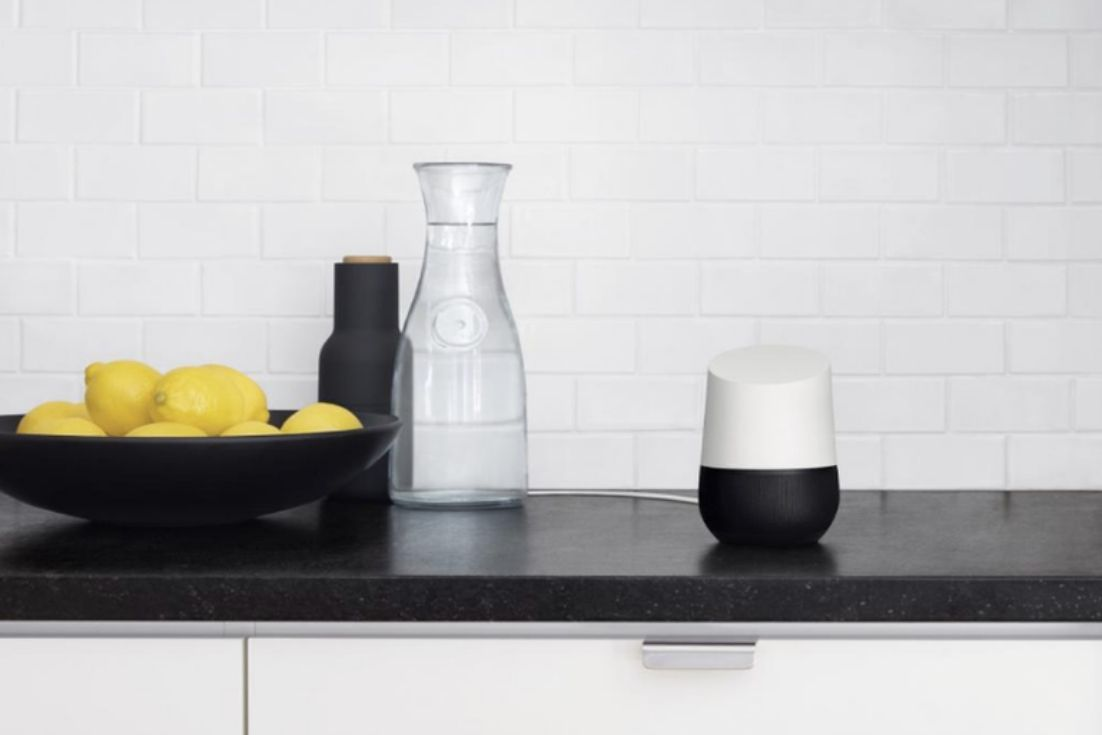Gift Dad His Personal Digital Assistant It S What He Needs And It S What He Wants Google Home How To Read A Recipe Home Speakers
