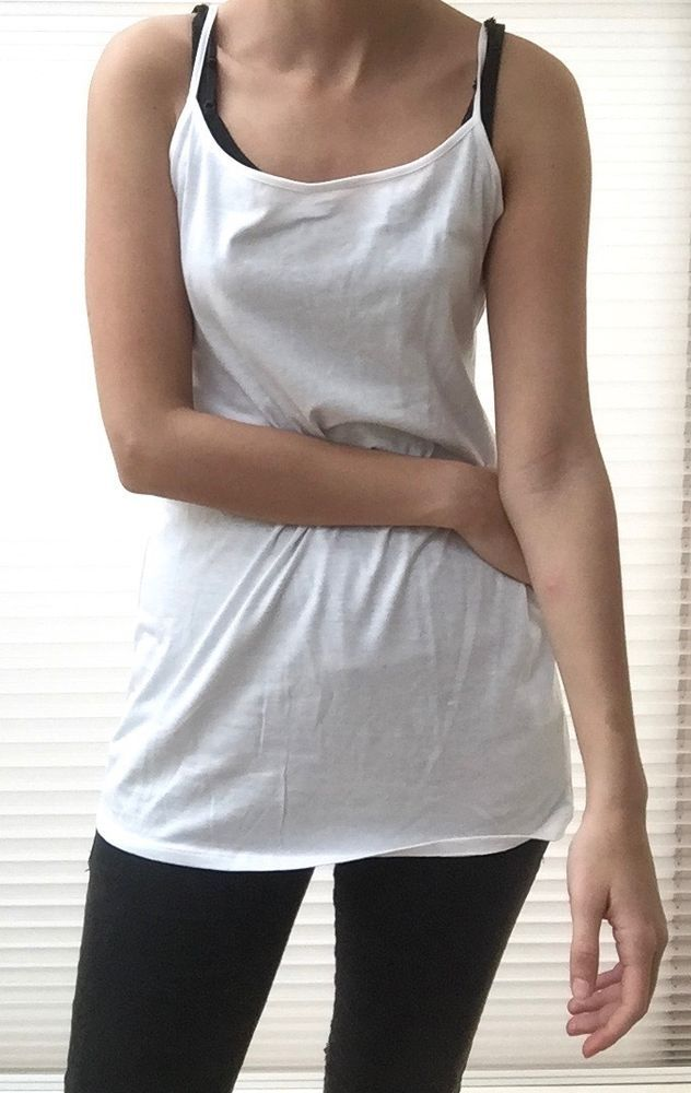 New without Tags- Marks & Spencer- Limited Collection- Vest Top- UK 12- White