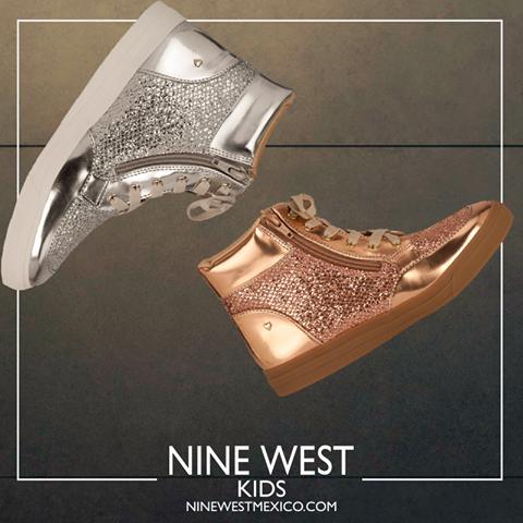 Unos sneakers que enamorarán a las pequeñas... ¡lucirán modernas y muy tiernas! #NineWest