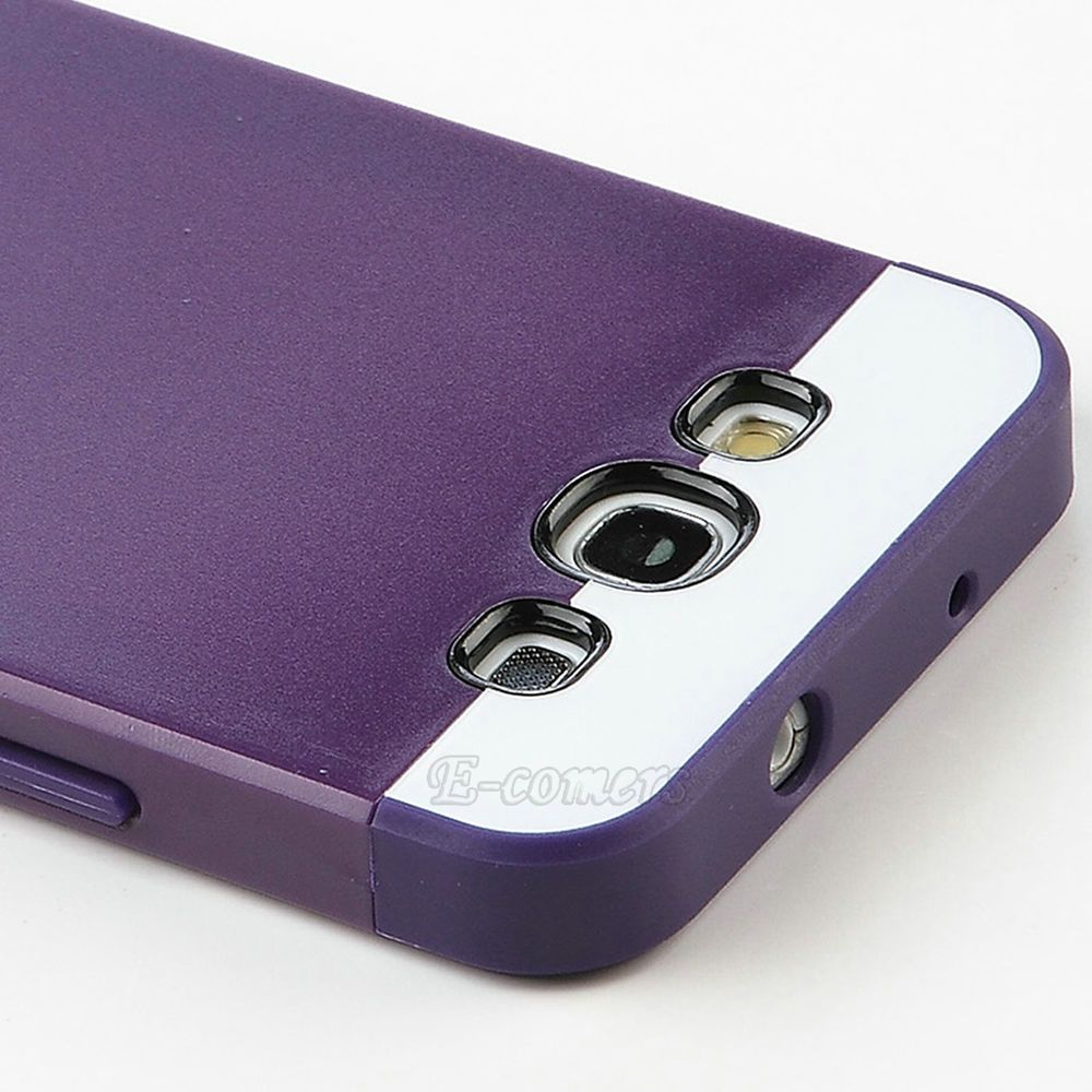 Dual Layer Hybrid Best Impact Hard Case Cover for Samsung Galaxy S3 S III i9300