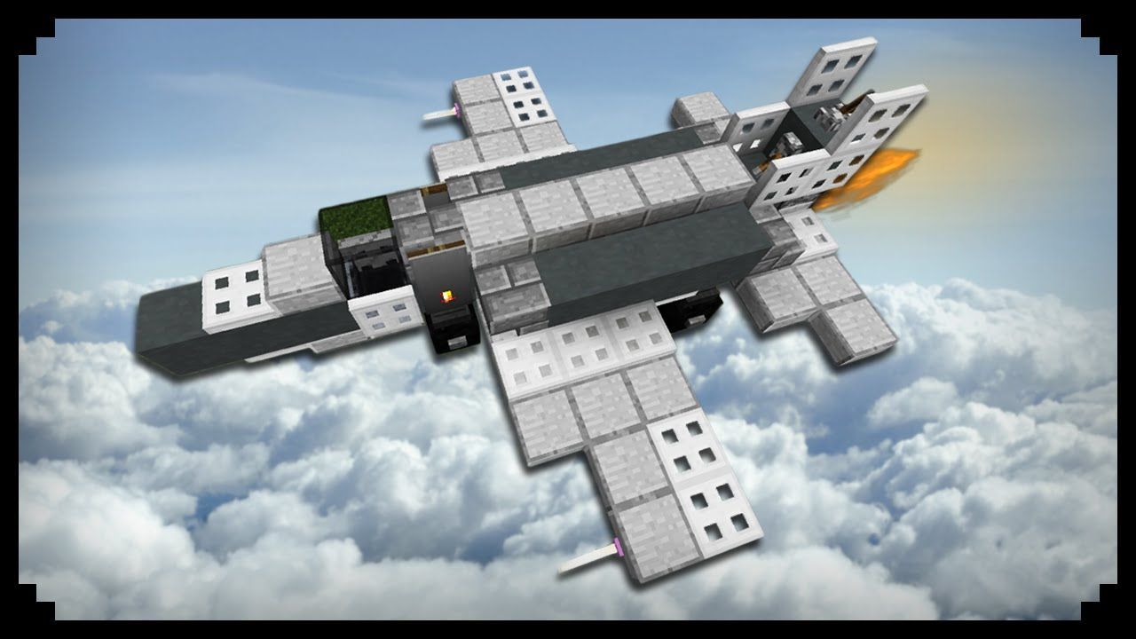 minecraft how to make a fighter jet magmamusen and other