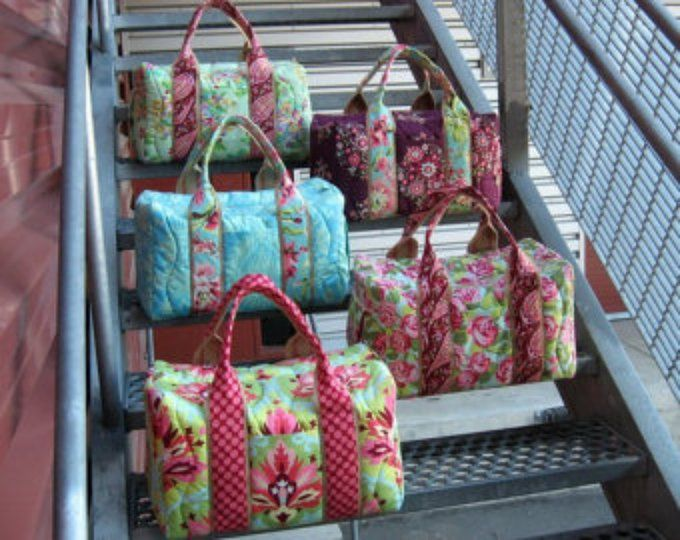How to Make a Duffle Duffel Sewing Instructions | Cute bags | Pinterest