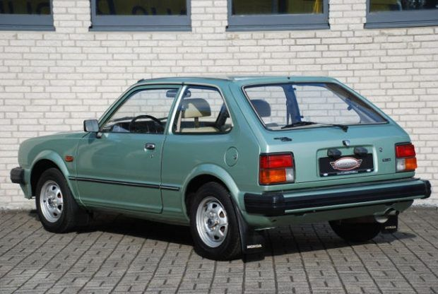 Youngtimer: Well Preserved 1981 Honda Civic in Germany ...