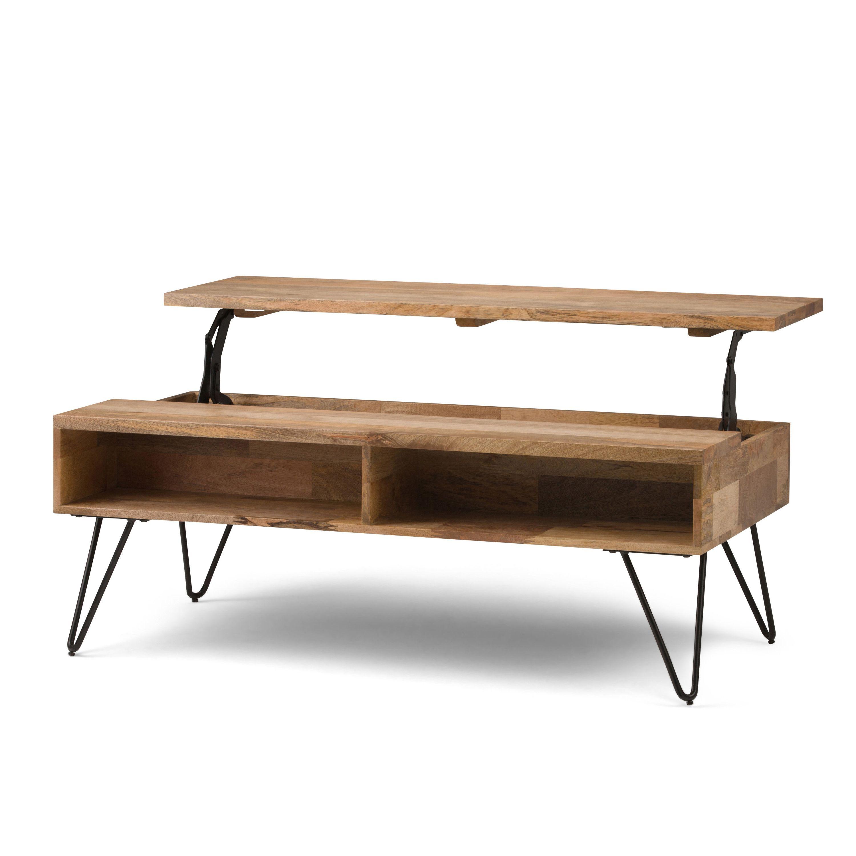 Home In 2020 Solid Mango Wood Coffee Table Mango Wood