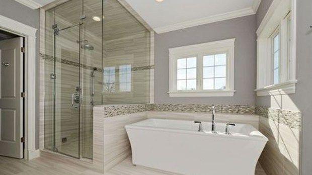 relaxing master bathroom bathtub remodel ideas 63