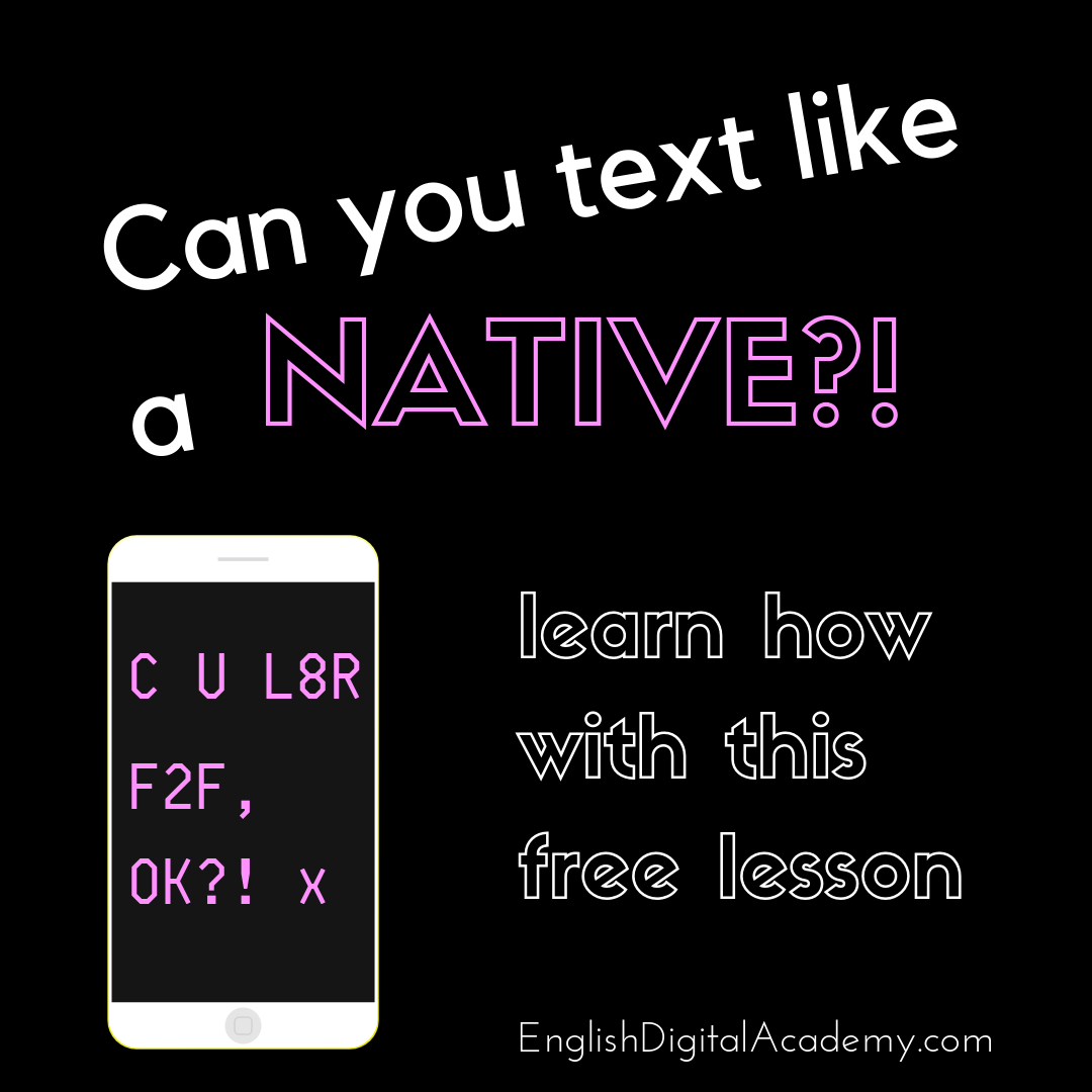 In this INTERACTIVE advanced English lesson, you are going