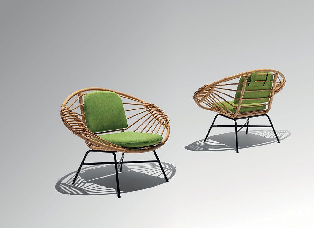 Culture Design Yota Design Fauteuil Retro Siege En Rotin Mobilier Contemporain