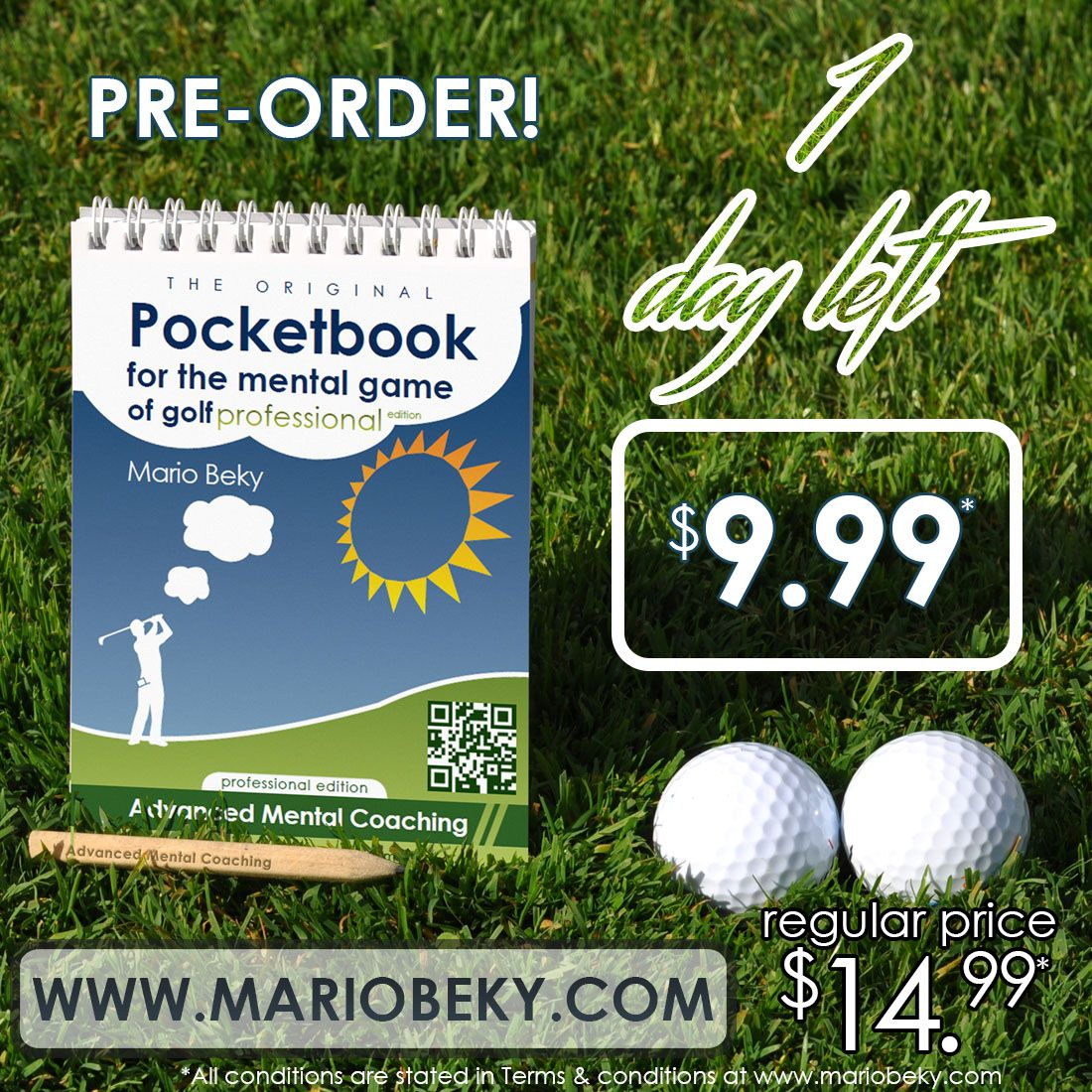 If you love golf, you know that a mental advantage in the