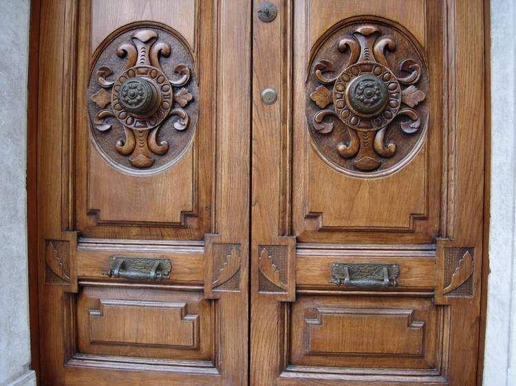 portoncini d\'ingresso in legno rustici - Cerca con Google ...